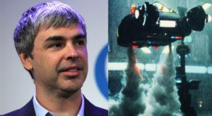 Larry Page, cofondator al Google, construiește în secret mașini zburătoare