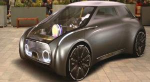 Mini prezintă un concept de mașină transparentă, făcută pentru a fi împărțită