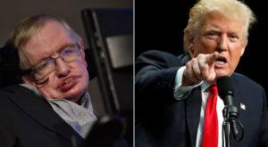 Ce părere are Stephen Hawking despre popularitatea lui Donald Trump
