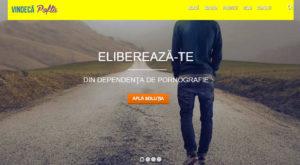 Acest site românesc spune că te vindecă de dependența de pornografie, dar plătești mai mult decât pe site-urile XXX