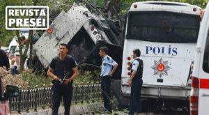 Revista presei: Atentat în Istanbul – un atac cu bombă a ucis 11 persoane și a rănit câteva zeci