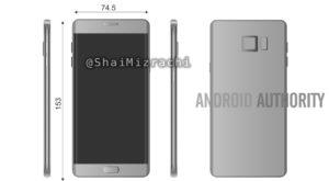 Galaxy Note 7 pare că va avea specificații foarte atrăgătoare