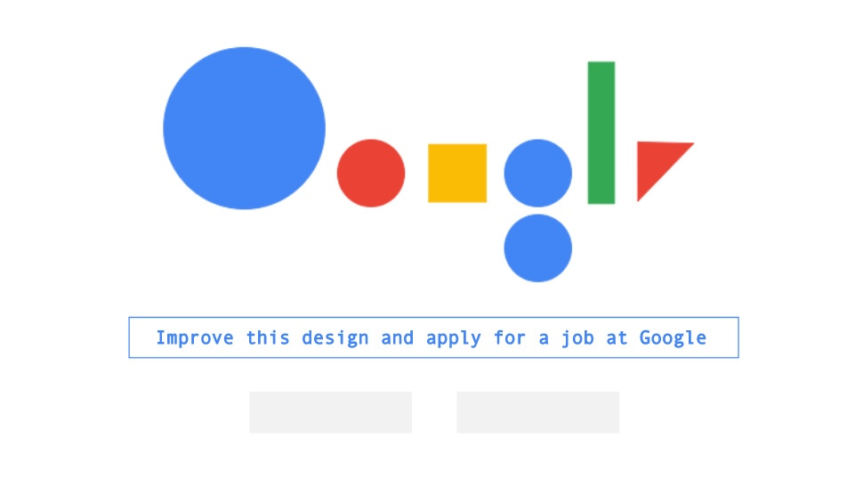 google pagina principala design