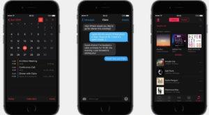 Dark Mode în iOS 10 este un concept atractiv foarte sănătos pentru ochi