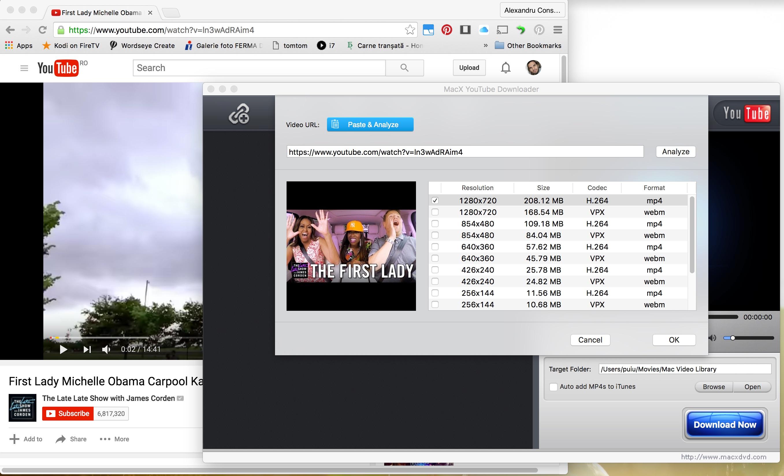 Cum descarci de pe YouTube pe Mac