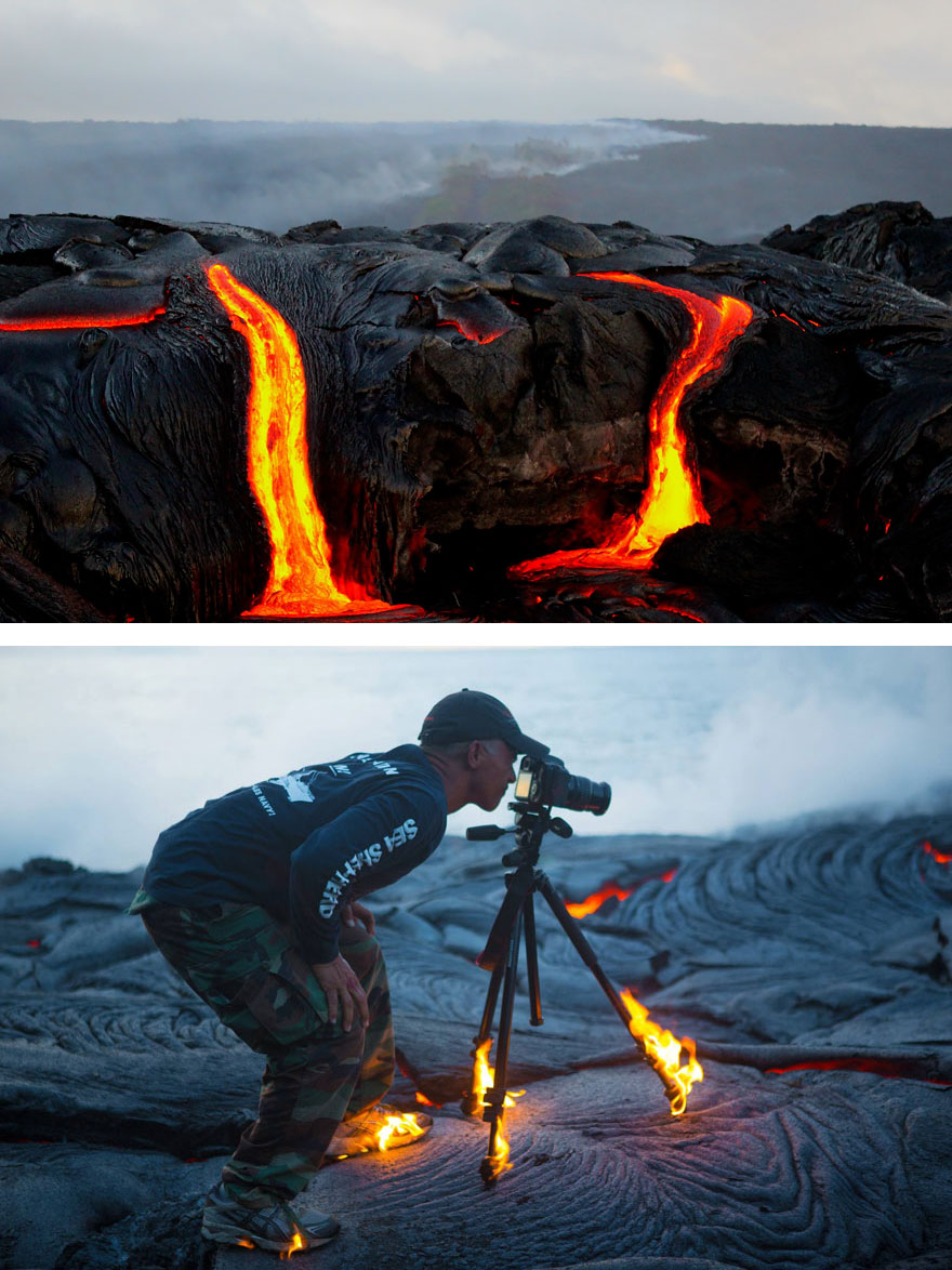 Cum se realizeaza fotografiile inedite