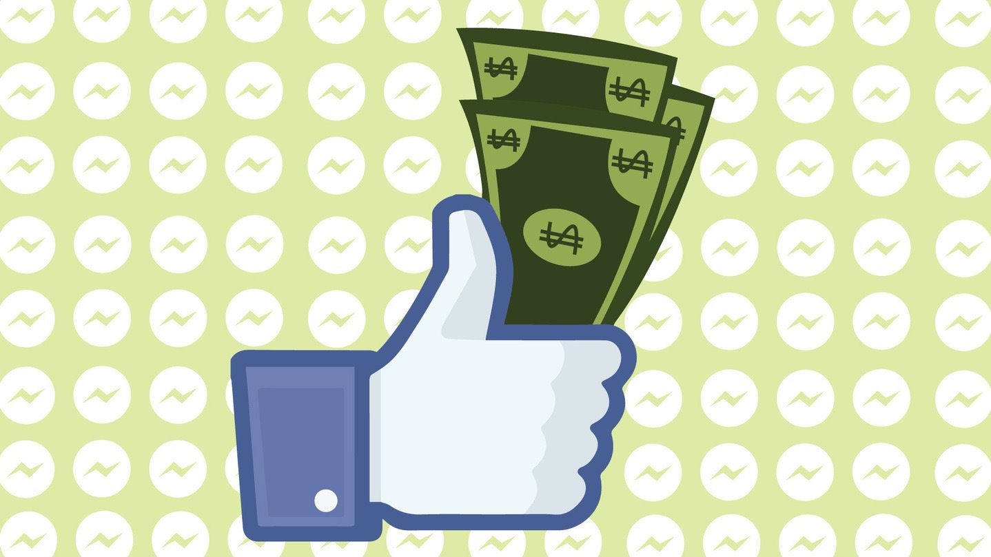 Facebook-Messenger-Payments bani virtuali returnati