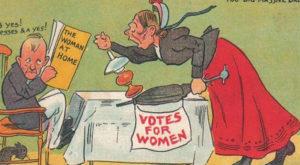 Propagandă sexistă: aceste cărți poștale din secolul 20 îți arată cât de misogină era societatea