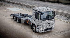 Primul camion electric din lume a fost dezvăluit de Mercedes-Benz