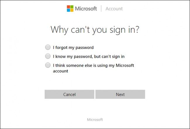 parola windows 10 cont microsoft