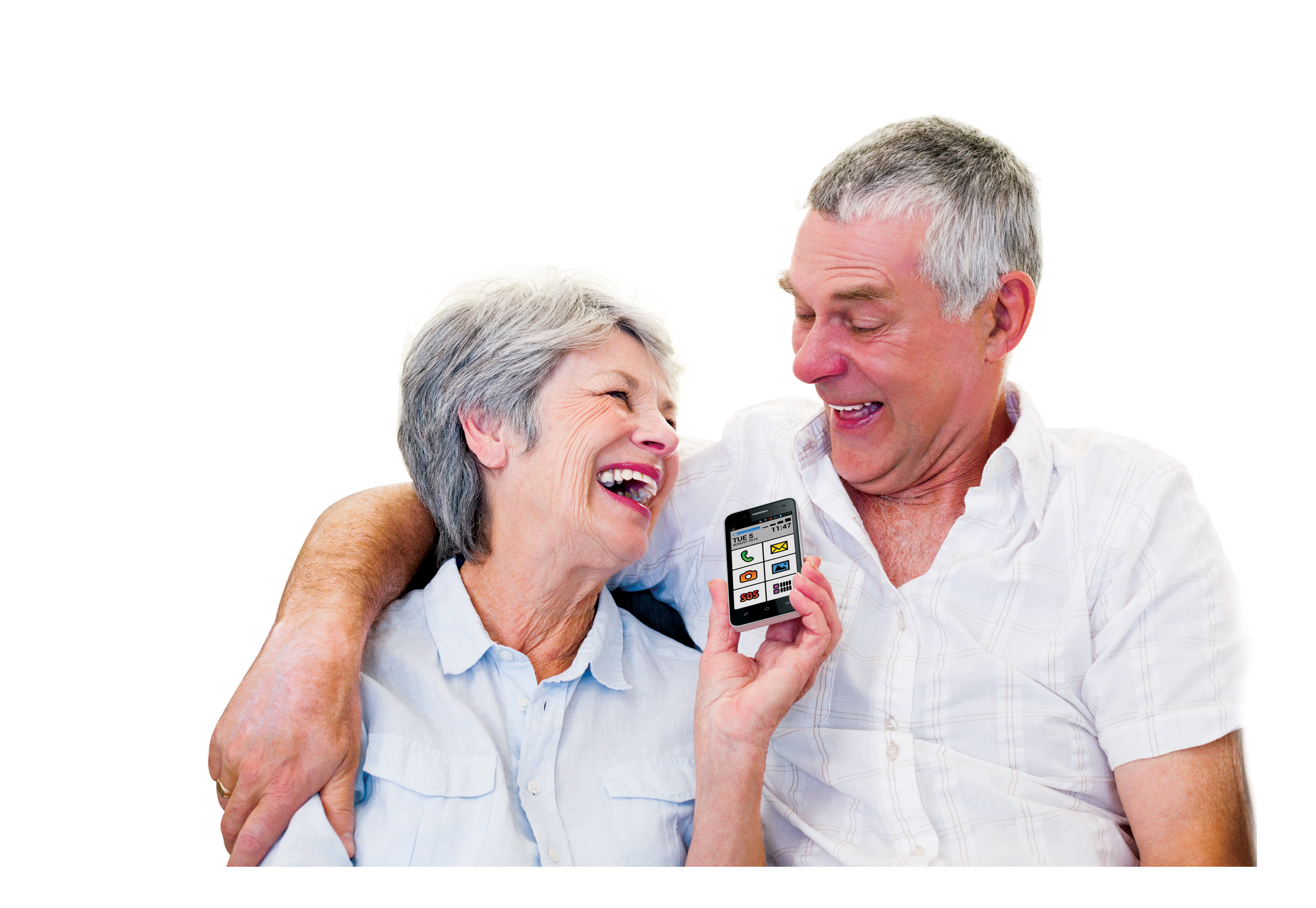 telefoane seniori android smartphone pensionari outro
