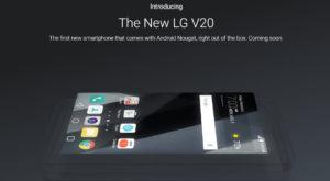 Oficial, LG V20 va fi primul smartphone cu Android 7.0 Nougat