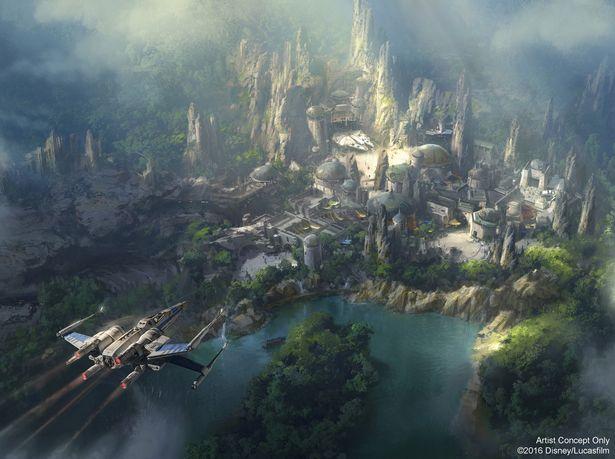 Parc Star Wars - Disney