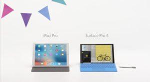 Microsoft face glumițe pe seama iPad Pro în noua reclamă Surface