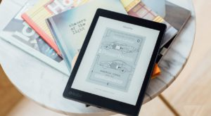 Kobo Aura One este un eBook reader subacvatic
