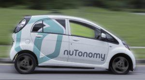 Taxiurile autonome au intrat în circulație datorită nuTonomy