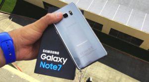 Românii care și-au luat Galaxy Note 7 vor începe să primească modelele noi