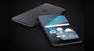 DTEK60, un nou smartphone pregătit de BlackBerry