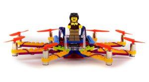 De acum îți poți construi proprille drone din Lego