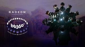 AMD a lansat o cameră de filmat 360 pentru realitatea virtuală