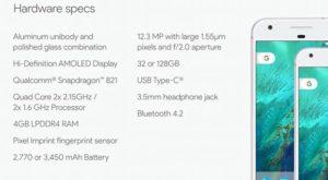 Google Pixel și Pixel XL, prezentate oficial: telefoanele Google Pixel promit cele mai bune camere