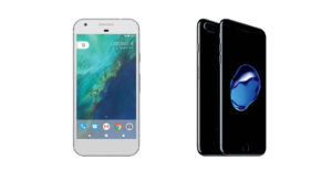 Google Pixel XL versus iPhone 7 Plus: cursa giganților
