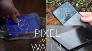 Google Pixel, băgat la apă: cum se comportă după 30 de minute