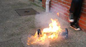 Un hoverboard a explodat și a incendiat o casă de un milion de dolari