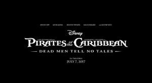 Primul trailer pentru Pirates of the Carribbean: Dead Men Tell No Tales descrie o poveste întunecată