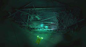 O flotă de nave medievale scufundate de sute de ani a fost descoperită în Marea Neagră