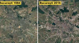 Google ne arată cum s-a schimbat fiecare loc de pe Pământ în ultimii 32 de ani