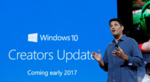 Windows 10 Creators Update va include noi funcții utile