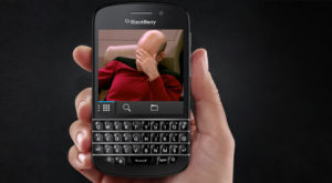 Cota de piață a BlackBerry a ajuns oficial la 0,0%