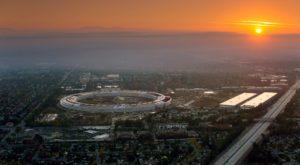 Apple Park, noul sediu futurist al companiei Apple, se deschide în aprilie