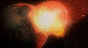 Formarea Lunii poate fi descifrată cu ajutorul sticlei radioactive