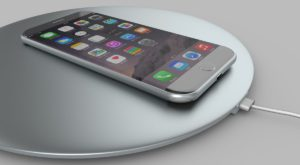 iPhone 8 s-ar putea încărca wireless, dar pe baza unui adaptor