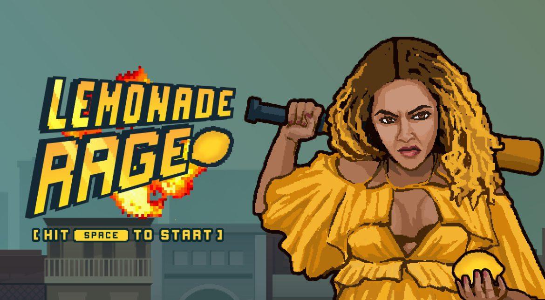 Lemonade Rage, jocul gratuit care te pune în pielea lui Beyonce