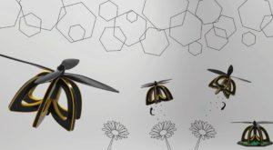 Problema globală a polenizării se va remedia cu drone albine