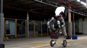 Handle este un robot care poate face parkour [VIDEO]