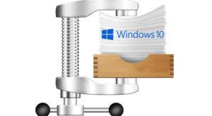 Cum micșorezi Windows 10 prin compresie, fără riscuri