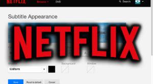 Cum modifici subtitrarea la Netflix dacă vrei să se vadă mai bine