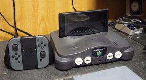 Cineva a transformat un Nintendo 64 într-un Nintendo Switch [VIDEO]