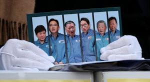 Coreea de Sud a rămas fără președinte din cauza corupției Samsung