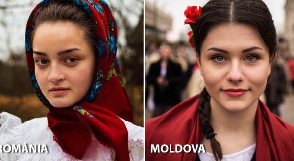 Frumusețea femeii, în funcție de țară. Galerie foto extraordinară a unei românce care face înconjurul planetei
