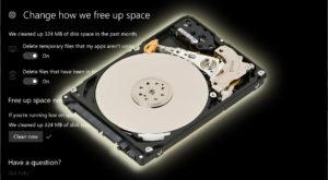 Cum automatizezi eliberarea de spațiu în Windows 10 prin Storage Sense
