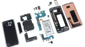 Galaxy S8 este surprinzător de greu de reparat, conform iFixit