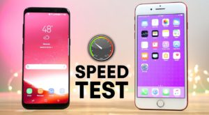 Samsung Galaxy S8 versus iPhone 7 Plus: care este mai rapid