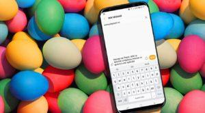 Mesaje de Paște: Urări și felicitări simpatice, trimise cu ajutorul unor aplicații