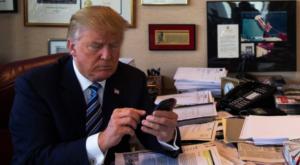 Care e singura aplicație de pe telefonul lui Donald Trump