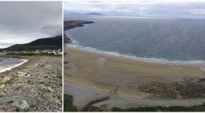 O plajă dispărută a reapărut după mai bine de trei decenii
